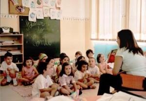 foto aula lingua portuguesa