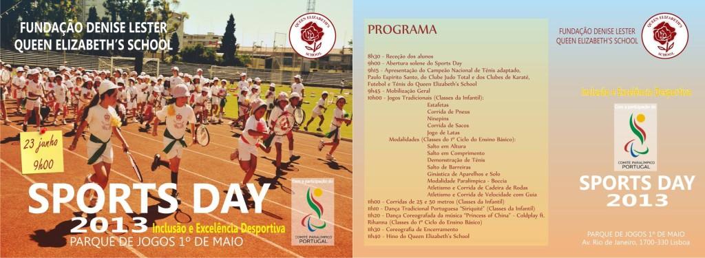 convite sports day 2013