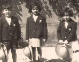 Os primeiros alunos
