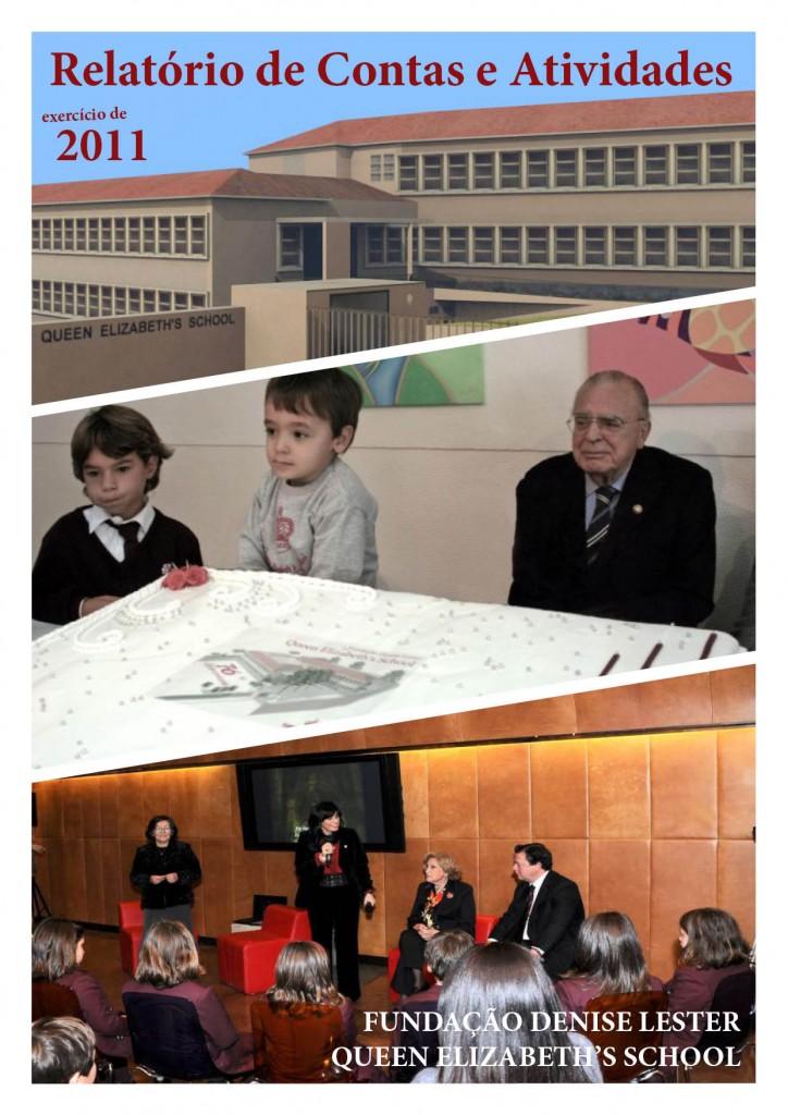 capa relatório anual atividades 2011