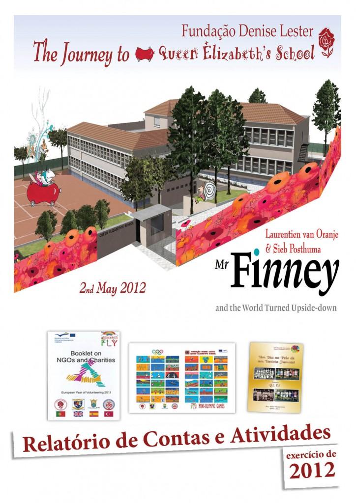 capa relatório anual atividades 2012